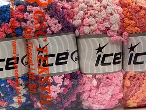 Fiber Content 50% Acrylic, 50% Polyamide, Mixed Lot, Brand Ice Yarns, Yarn Thickness 6 SuperBulky  Bulky, Roving, fnt2-66788