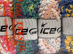 Fiber Content 50% Polyamide, 50% Acrylic, Mixed Lot, Brand Ice Yarns, Yarn Thickness 6 SuperBulky  Bulky, Roving, fnt2-66789