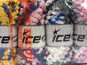 Fiber Content 50% Acrylic, 50% Polyamide, Mixed Lot, Brand Ice Yarns, Yarn Thickness 6 SuperBulky  Bulky, Roving, fnt2-66791