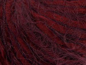 Fiber Content 60% Micro Fiber, 40% Polyamide, Maroon, Brand Ice Yarns, Burgundy, Yarn Thickness 4 Medium  Worsted, Afghan, Aran, fnt2-66795