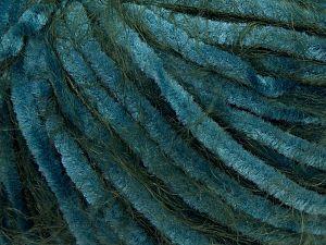 Fiber Content 60% Micro Fiber, 40% Polyamide, Turquoise, Brand Ice Yarns, Green, Yarn Thickness 4 Medium  Worsted, Afghan, Aran, fnt2-66796