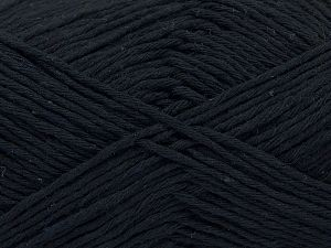 Fiber Content 100% Cotton, Brand Ice Yarns, Anthracite Black, Yarn Thickness 4 Medium  Worsted, Afghan, Aran, fnt2-66805