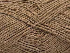 Fiber Content 100% Cotton, Brand Ice Yarns, Beige, Yarn Thickness 4 Medium  Worsted, Afghan, Aran, fnt2-66808