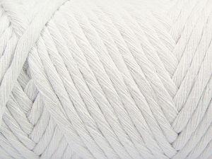 Περιεχόμενο ίνας 100% Βαμβάκι, White, Brand Ice Yarns, Yarn Thickness 6 SuperBulky  Bulky, Roving, fnt2-66825