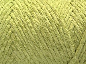 Fiber Content 100% Cotton, Light Green, Brand Ice Yarns, Yarn Thickness 6 SuperBulky  Bulky, Roving, fnt2-66833