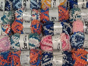 In this list; you see most recent 50 mixed lots. <br> To see all <a href=&/mixed_lots/o/4#list&>CLICK HERE</a> (Old ones have much better deals)<hr> Fiber Content 50% Polyamide, 50% Acrylic, Brand Ice Yarns, fnt2-66870