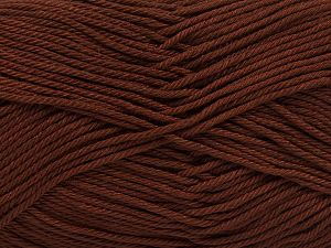 Fiber Content 100% Mercerised Giza Cotton, Brand Ice Yarns, Brown, Yarn Thickness 2 Fine  Sport, Baby, fnt2-66918