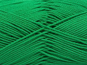 Fiber Content 100% Mercerised Giza Cotton, Brand Ice Yarns, Green, Yarn Thickness 2 Fine  Sport, Baby, fnt2-66929