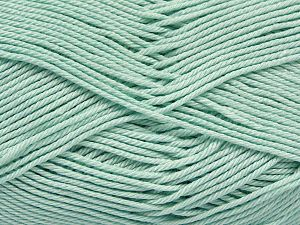 Fiber Content 100% Mercerised Giza Cotton, Water Green, Brand Ice Yarns, Yarn Thickness 2 Fine  Sport, Baby, fnt2-66931