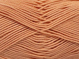 Fiber Content 100% Mercerised Giza Cotton, Light Orange, Brand Ice Yarns, Yarn Thickness 2 Fine  Sport, Baby, fnt2-66936