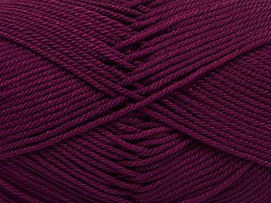 Fiber Content 100% Mercerised Giza Cotton, Brand Ice Yarns, Dark Burgundy, Yarn Thickness 2 Fine  Sport, Baby, fnt2-66942