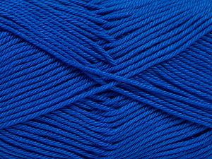 Fiber Content 100% Mercerised Giza Cotton, Brand Ice Yarns, Blue, Yarn Thickness 2 Fine  Sport, Baby, fnt2-66950