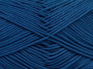 Fiber Content 100% Mercerised Giza Cotton, Jeans Blue, Brand Ice Yarns, Yarn Thickness 2 Fine  Sport, Baby, fnt2-66952