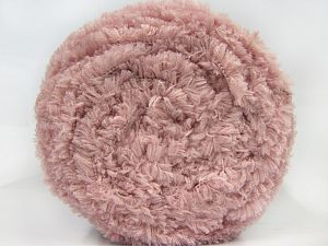 Fiber Content 100% Micro Fiber, Brand Ice Yarns, Baby Pink, Yarn Thickness 6 SuperBulky  Bulky, Roving, fnt2-66981