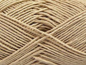 Fiber Content 50% Bamboo, 50% Acrylic, Brand Ice Yarns, Beige, Yarn Thickness 2 Fine  Sport, Baby, fnt2-66982