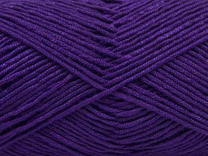 Fiber Content 50% Bamboo, 50% Acrylic, Purple, Brand Ice Yarns, Yarn Thickness 2 Fine  Sport, Baby, fnt2-66985