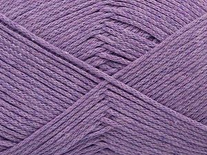 Fiber Content 100% Cotton, Lavender, Brand Ice Yarns, Yarn Thickness 2 Fine  Sport, Baby, fnt2-67027