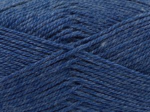 Fiber Content 100% Acrylic, Jeans Blue, Brand Ice Yarns, Yarn Thickness 2 Fine  Sport, Baby, fnt2-67039