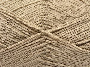 Fiber Content 100% Acrylic, Light Beige, Brand Ice Yarns, Yarn Thickness 2 Fine  Sport, Baby, fnt2-67040