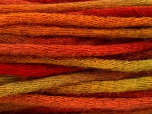 Fiber Content 80% Acrylic, 20% Wool, Red, Orange, Brand Ice Yarns, Green, fnt2-67059