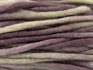 Fiber Content 80% Acrylic, 20% Wool, Lilac Shades, Brand Ice Yarns, fnt2-67062