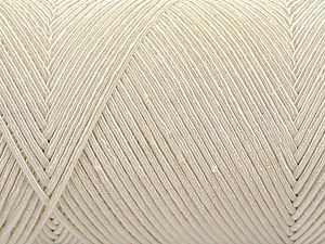 Fiber Content 70% Polyester, 30% Cotton, Brand Ice Yarns, Ecru, Yarn Thickness 3 Light  DK, Light, Worsted, fnt2-67065