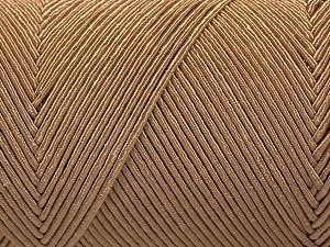 Fiber Content 70% Polyester, 30% Cotton, Light Brown, Brand Ice Yarns, Yarn Thickness 3 Light  DK, Light, Worsted, fnt2-67067