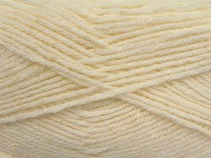 Fiber Content 76% Acrylic, 14% Cotton, 10% Bamboo, White, Brand Ice Yarns, Cream, Yarn Thickness 2 Fine  Sport, Baby, fnt2-67076