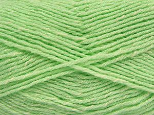 Fiber Content 76% Acrylic, 14% Cotton, 10% Bamboo, Mint Green, Brand Ice Yarns, Cream, Yarn Thickness 2 Fine  Sport, Baby, fnt2-67090