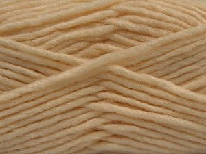 Fiber Content 85% Acrylic, 5% Mohair, 10% Wool, Brand Ice Yarns, Dark Cream, Yarn Thickness 5 Bulky  Chunky, Craft, Rug, fnt2-67096