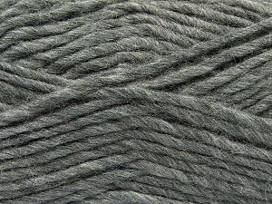 Fiber Content 85% Acrylic, 5% Mohair, 10% Wool, Brand Ice Yarns, Grey, Yarn Thickness 5 Bulky  Chunky, Craft, Rug, fnt2-67101