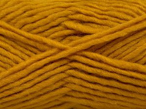 Fiber Content 85% Acrylic, 5% Mohair, 10% Wool, Brand Ice Yarns, Gold, Yarn Thickness 5 Bulky  Chunky, Craft, Rug, fnt2-67108