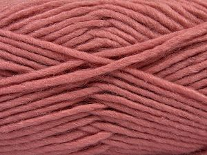 Fiber Content 85% Acrylic, 5% Mohair, 10% Wool, Pink, Brand Ice Yarns, Yarn Thickness 5 Bulky  Chunky, Craft, Rug, fnt2-67117