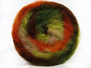 Fiber Content 95% Premium Acrylic, 5% Mohair, Orange, Brand Ice Yarns, Green Shades, Camel, Yarn Thickness 5 Bulky  Chunky, Craft, Rug, fnt2-67126