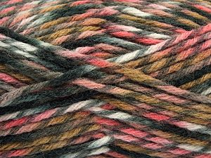 Fiber Content 75% Premium Acrylic, 25% Wool, White, Pink, Brand Ice Yarns, Grey, Brown, Black, Yarn Thickness 5 Bulky  Chunky, Craft, Rug, fnt2-67177