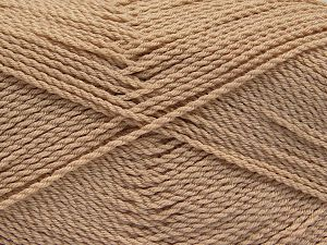 Fiber Content 100% Premium Acrylic, Light Beige, Brand Ice Yarns, Yarn Thickness 2 Fine  Sport, Baby, fnt2-67199