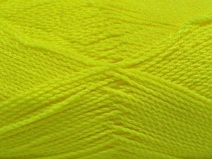 Fiber Content 100% Premium Acrylic, Neon Green, Brand Ice Yarns, Yarn Thickness 2 Fine  Sport, Baby, fnt2-67209