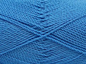 Fiber Content 100% Premium Acrylic, Light Blue, Brand Ice Yarns, Yarn Thickness 2 Fine  Sport, Baby, fnt2-67217