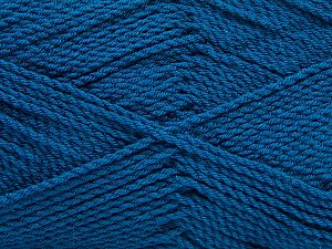 Fiber Content 100% Premium Acrylic, Brand Ice Yarns, Dark Teal, Yarn Thickness 2 Fine  Sport, Baby, fnt2-67221