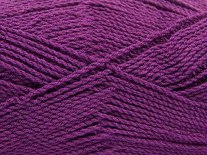 Fiber Content 100% Premium Acrylic, Brand Ice Yarns, Dark Purple, Yarn Thickness 2 Fine  Sport, Baby, fnt2-67223