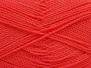 Fiber Content 100% Premium Acrylic, Salmon, Brand Ice Yarns, Yarn Thickness 2 Fine  Sport, Baby, fnt2-67233