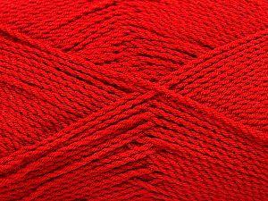 Fiber Content 100% Premium Acrylic, Brand Ice Yarns, Dark Red, Yarn Thickness 2 Fine  Sport, Baby, fnt2-67235