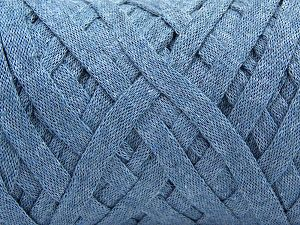 Contenido de fibra 100% Recycled Cotton, Jeans Blue, Brand Ice Yarns, Yarn Thickness 6 SuperBulky  Bulky, Roving, fnt2-67285