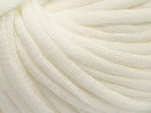 This is a tube-like yarn with soft cotton fleece filled inside. Fiber Content 70% Cotton, 30% Polyester, White, Brand Ice Yarns, Yarn Thickness 5 Bulky  Chunky, Craft, Rug, fnt2-67302