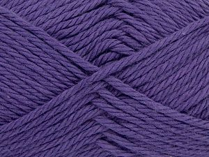 Fiber Content 100% Cotton, Purple, Brand Ice Yarns, Yarn Thickness 4 Medium  Worsted, Afghan, Aran, fnt2-67332