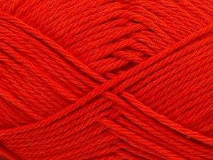Fiber Content 100% Cotton, Brand Ice Yarns, Dark Orange, Yarn Thickness 4 Medium  Worsted, Afghan, Aran, fnt2-67334