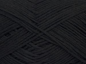 Fiber Content 67% Cotton, 33% Polyamide, Brand Ice Yarns, Black, Yarn Thickness 2 Fine  Sport, Baby, fnt2-67352