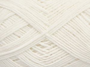 Fiber Content 67% Cotton, 33% Polyamide, White, Brand Ice Yarns, Yarn Thickness 2 Fine  Sport, Baby, fnt2-67353