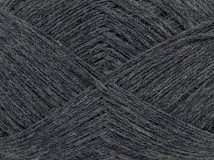 Fiber Content 67% Cotton, 33% Polyamide, Brand Ice Yarns, Anthracite Black, Yarn Thickness 2 Fine  Sport, Baby, fnt2-67356