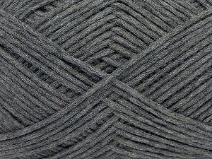 Fiber Content 67% Cotton, 33% Polyamide, Brand Ice Yarns, Dark Grey, Yarn Thickness 2 Fine  Sport, Baby, fnt2-67357